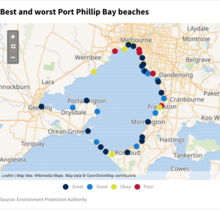 Best and worst Port Phillip Bay beaches