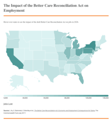 The Impact of the Better Care Reconciliation Act on Employment