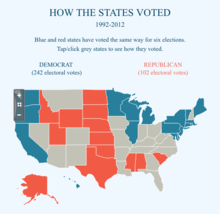 How the United States voted