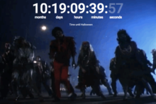 Time until Halloween (GIF)
