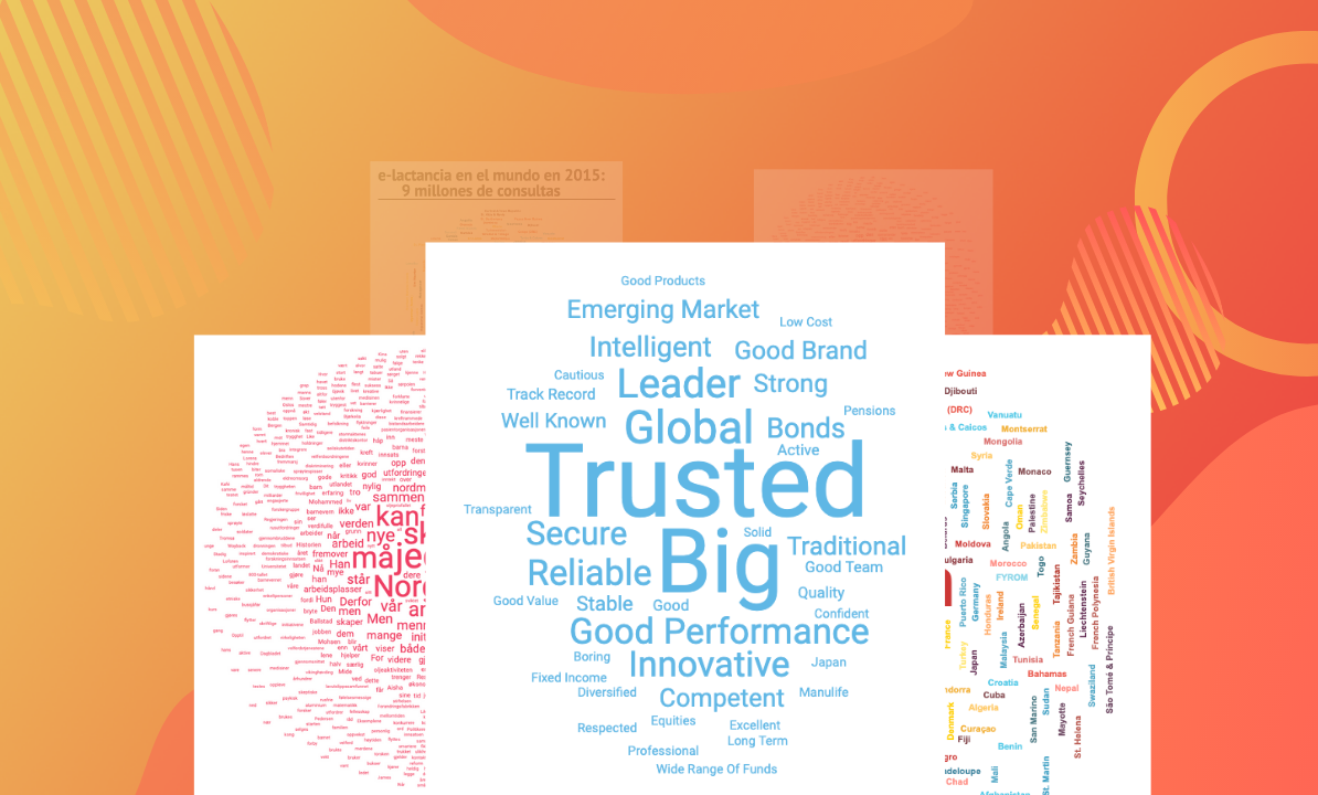 Create interactive word clouds to tell your story more effectively For Free Word Collage Template